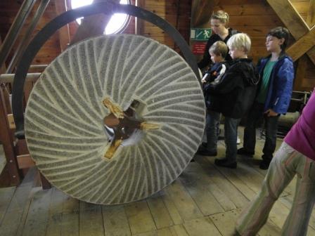 Besuch in der Historischen Mühel am 9.9.2011