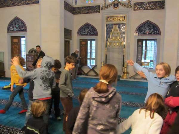 Ausflug in die Moschee, 20.1.2012