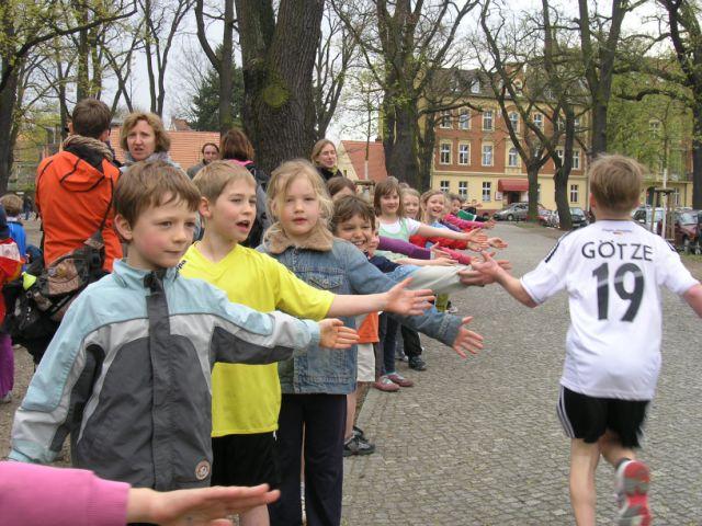 Viele schnelle Kinder rannten mehr als 20 Runden.