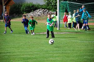 Fußball mitten im Babelsberger Kiez