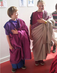Mode bei den alten Römern-1
