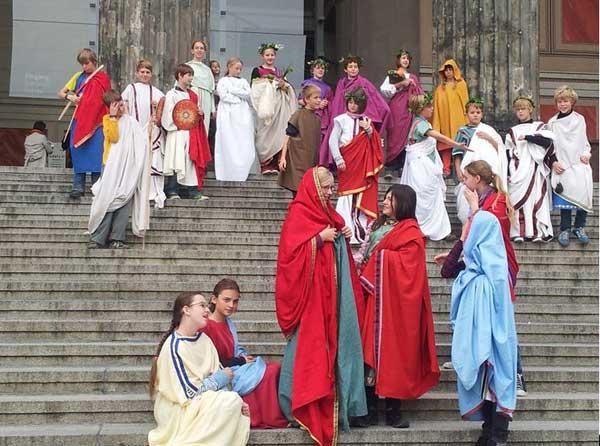 Mode bei den alten Römern-3