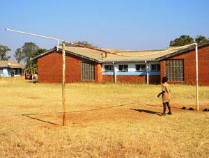 ca. 140 km südwestlich der Hauptstadt Harare (Simbabwe).