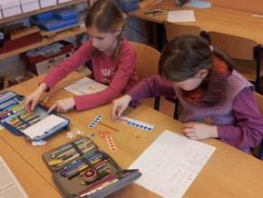 Mathematik + Kamuffel, Blick in den Klassenraum