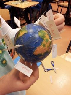 Wie verläuft der Äquator?