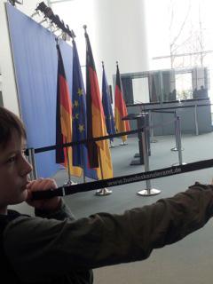 Besuch im Bundeskanzleramt