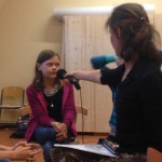 Besuch vom Kulturradio des Rbb