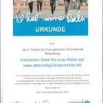 UNICEF - Kinderrechte - Aktion der 5. Klassen