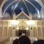 Besuch der Synagoge in der Rykestraße in Berlin