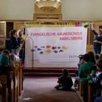 Wir feiern Schuljubiläum - Andacht 10 Jahre Ev. Grundschule Babelsberg