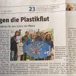 Sechstklässler klären Kiez auf - Plastikmüll in den Weltmeeren