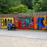 "Abschlussprojekt ""Graffiti"" der 6. Klasse"
